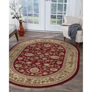 AT HOME by O Soho Traditional Style Oval Rug (5'3 x 7'3) at Sears.com