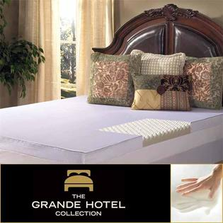 AT HOME by O Grande Hotel Collection 4-inch Comfort Loft Queen/ King/ Cal King-size Memory Foam Mattress Topper at Sears.com