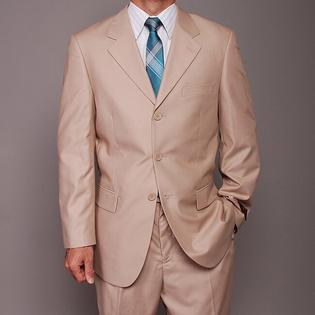 Oliver & James Carlo Lusso Men's Tan 3-button Suit at mygofer.com