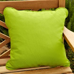 Overstock.com Clara Outdoor Green Throw Pillows Made with Sunbrella (Set of 2) at Sears.com