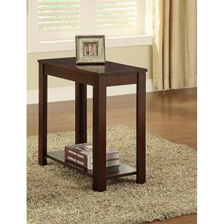 Cappuccino Wooden Chair Side End Table at Sears.com