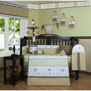 GEENNY Bumble Bee 13-piece Crib Bedding Set at Sears.com
