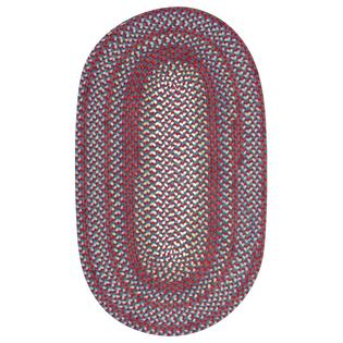 Braided Cape Cod Americana Wool Blend Oval Rug (7' x 9') at Sears.com