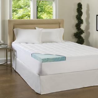 Beautyrest Beautyrest 4-inch Supreme Gel Memory Foam and 1.5-inch Fiber Mattress Topper