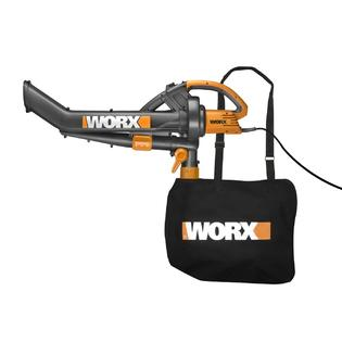 Worx Trivac Wg500 12 Amp All-in-one Electric Blower-mulcher-vacuum at Sears.com