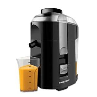 Black & Decker JE2200B 400-Watt Fruit and Vegetable Juice Extractor with Custom Juice Cup at Sears.com