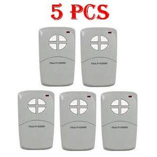 Linear Multicode 4140 Linear Remote Garage Door Opener Transmitter 5pcs at Sears.com