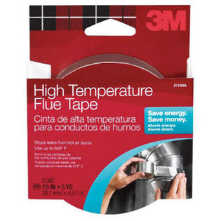 "3M 113 High-Temperature Flue Tape, 1-1/2"" x 15', Silver at Sears.com"