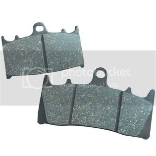 EBC ORGANIC BRAKE PADS FRONT (2 SETS NEEDED) OR REAR 90-92 MOTO GUZZI V 75 SPORT at Sears.com