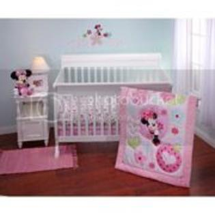 Disney Minnie Sitting Pretty 4 piece Crib Bedding Set at Sears.com