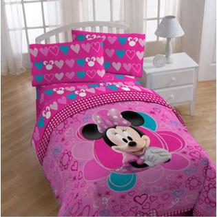 Disney's Minnie Mouse Twin Comforter & Sheet Set (4 Piece Bedding) at Sears.com