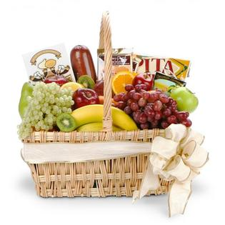 Grand Central Gift Baskets Gourmet Fruit Basket - Deluxe | GC Gift Baskets at Sears.com
