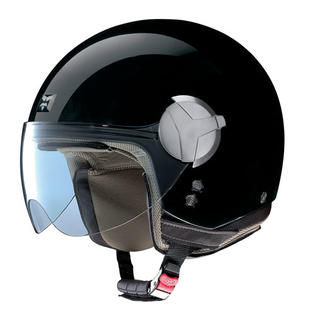 Nolan USA Nolan N20 Outlaw Gloss Black Open-face Motorcycle Helmet Size Small at Sears.com