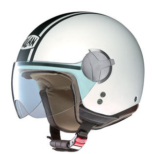 Nolan USA Nolan N20 Caribe Flat White Open-face Motorcycle Helmet Size Medium at Sears.com
