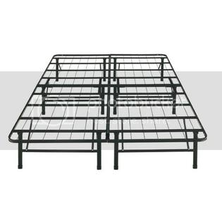 Iconic 14-inch High Platform King Bed Frame with no Headboard/Footboard Brackets - No Boxsprings Needed at Sears.com