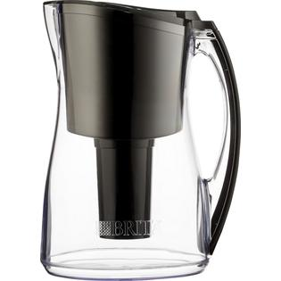 Brita 8 Cup Marina Electronically Filtered Water Pitcher - Black at Sears.com