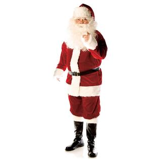 UNDERWRAPS Deluxe Velvet Santa Suit Adult Mens Claus Christmas Costume at Sears.com