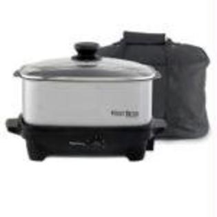 Focus Electrics WB 5 Qt. Oblong Slow Cooker - FOCUS - 84915 at Sears.com