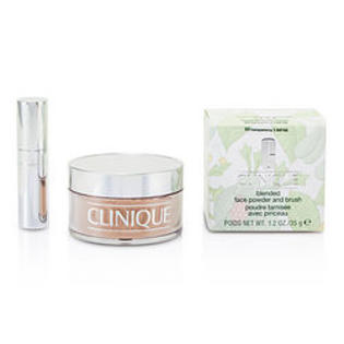 Clinique Blended Face Powder + Brush - No. 03 Transparency Premium price due to scarcity --35g/1.2oz at Sears.com