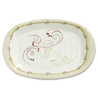 "MotivationUSA * Symphony Paper Dinnerware, Heavyweight Platter, 6"" x 8"", Tan, 125/Pack at Sears.com"