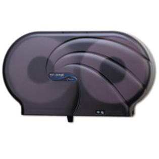 "MotivationUSA * Oceans Twin 9"" JBT Toilet Tissue Dispenser, 19 x 5 1/4 x 12, Black Pea at Sears.com"