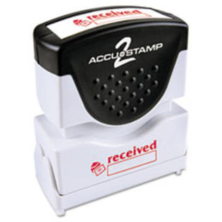 MotivationUSA * Accustamp2 Shutter Stamp with Microban, Red, RECEIVED, 1 5/8 x 1/2 at Sears.com