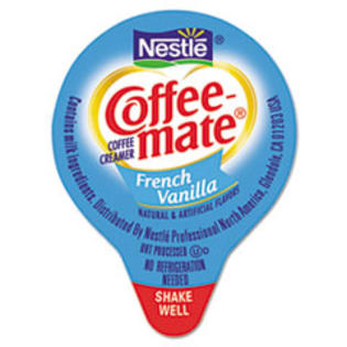 MotivationUSA * Liquid Coffee Creamer, Mini Cups, French Vanilla, 180/Box at Sears.com