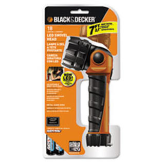 MotivationUSA * Black & Decker LED Flashlight, Black Orange, 2 AA at Sears.com