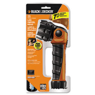 MotivationUSA * Black & Decker LED Flashlight, Black Orange, 2 D at Sears.com