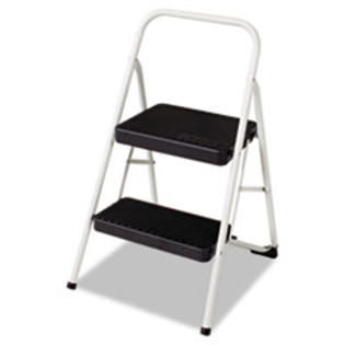 MotivationUSA * Two-Step All Steel Folding Step Stool, 220-lb., 17 3/8w x 18d x 28 1/8 at Sears.com