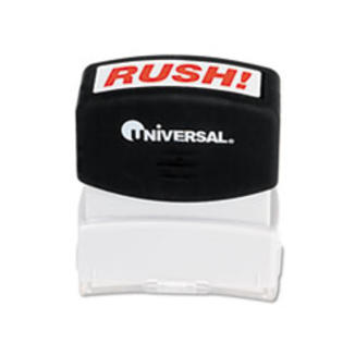 MotivationUSA * Message Stamp, RUSH, Pre-Inked/Re-Inkable, Red at Sears.com