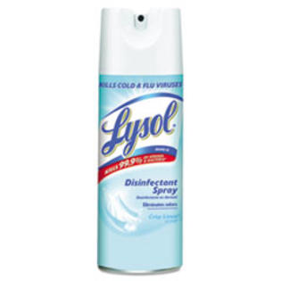MotivationUSA * Disinfectant Spray, Crisp Linen, 12oz, Aerosol Can at Sears.com