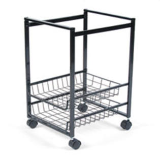 COU ** Mobile File Cart w/Sliding Baskets, 15w x 12-7/8d x 20-7/8h, Black at Sears.com