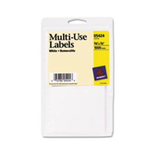 COU ** Self-Adhesive Removable Multi-Use Labels, 5/8 x 7/8, White, 1000/Pack at Sears.com