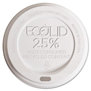 COU ** Eco-Lid 25% Recycled Content Hot Cup Lid, Fits 10-20 oz Cups, 1000/Car at Sears.com