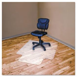 COU ** RecyClear Chairmats for Hard Floors, 45 x 53, 25 x 12 Lip, Clear at Sears.com