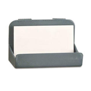 COU ** Recycled Plastic Cubicle Business Card Holder, 4 x 2 1/4 x 2 3/8, Char at Sears.com