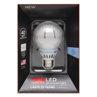 COU ** LED Advanced Light Bulbs A-19, 40 Watts, Cool