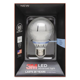 COU ** LED Advanced Light Bulbs A-19, 60 Watts, Cool