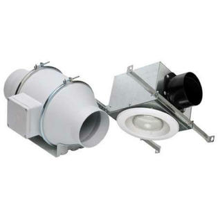 S&P Soler and Palau Vent Fans Soler & Palau KIT-TD100XH In-line Exhaust Fan Halogen Lighted Kit at Sears.com