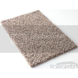 Koeckritz - Browns - Square Area Rug BRIARWOOD 40 oz. Plush Textured Shag Style Carpet.