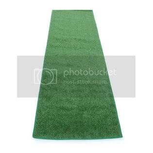Koeckritz Turf Lawn Green Artifical Grass Carpet Rug Mat