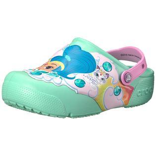 a0fcbb5a0cf2 Crocs Kids  Fun Lab Shimmer   Shine Light-Up Clog