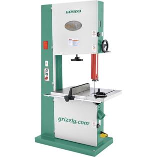 "Grizzly 24"" Industrial Bandsaw 7-1/2 HP 3-Phase at Sears.com"