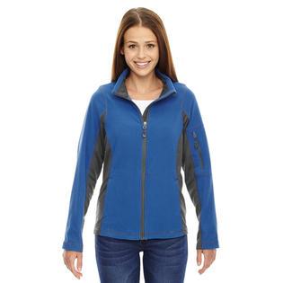 North End 78198 Women'sTextured Fleece Jacket