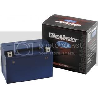 BikeMaster 2006-2009 Yamaha YZF-R6S Motorcycle Deep Cycle Gel Battery at Sears.com