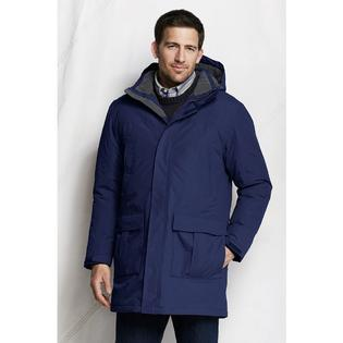 Lands' End Men's Regular Waterproof Insulated Squall Parka at Sears.com