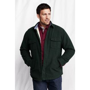 Lands' End Men's Regular Sherpa Lined Shirt Jacket at Sears.com