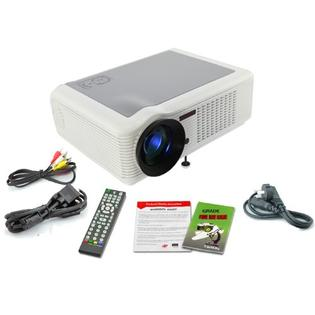 DB Power New HD Home Theater 1080P LCD PROJECTOR LED HDMI WII PS3 TV With CE FCC ROHS white at Sears.com