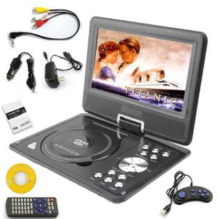 DB Power 9.5 inch TFT LCD Portable DVD Player, Audio Video VCD CD TV Photo Game MP3 MP4, Built-in dual stereo speakers at Sears.com